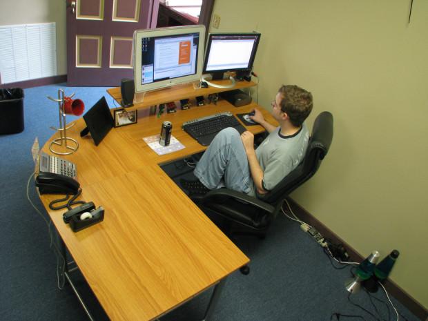 Brian's New Desk