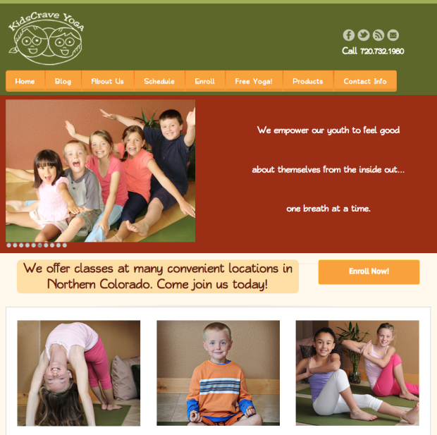 Kids Crave Yoga